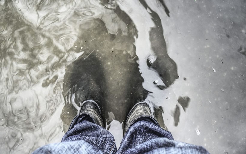 Michigan basement flooding