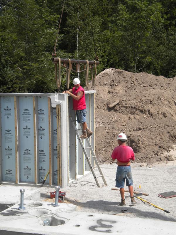 Michigan-foundation construction
