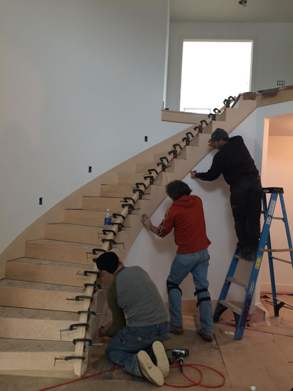 Midland Curved Staircase
