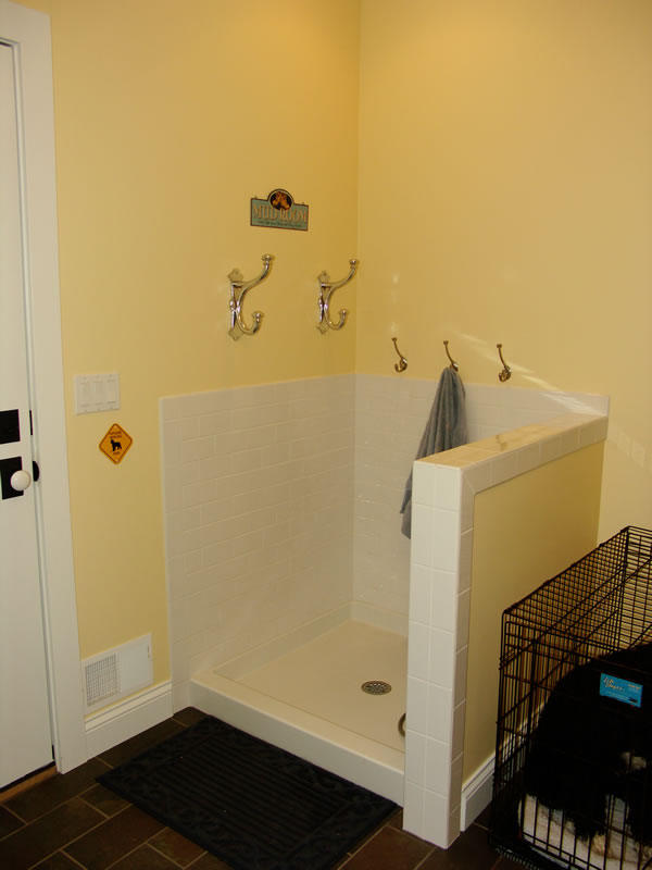 Mudroom with Shower