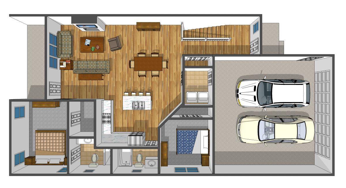 Midland's Open Door luxury custom home