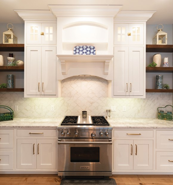 French Country Custom Home Kitchen 2