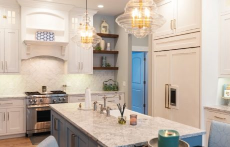 French Country Custom Home Kitchen 3